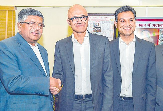 Coding needed to innovate for future says Satya Nadella - Sakshi