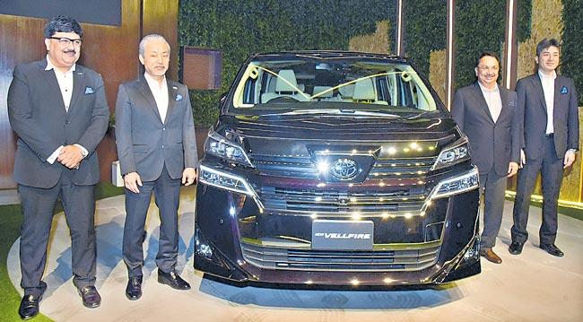Toyota launches hybrid electric vehicle in India - Sakshi
