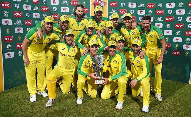 Warner And Finch Powers Australia To Series Win Against South Africa - Sakshi