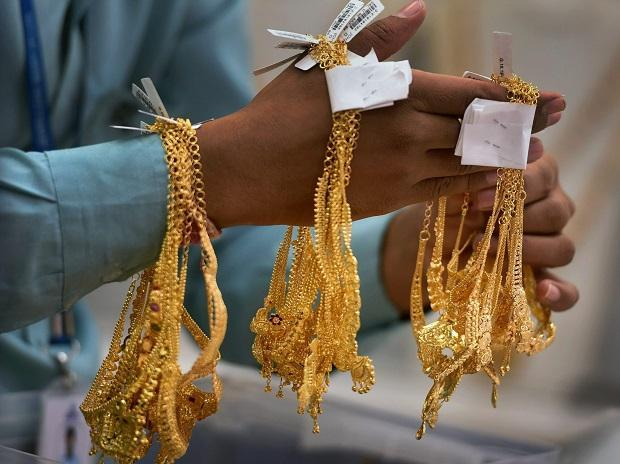 Gold Prices Zoom Again On Mcx - Sakshi