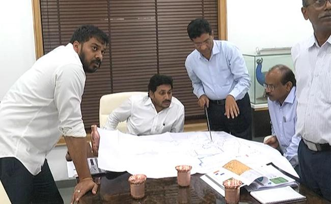 YS Jagan Mohan Reddy Conduct Review Meeting On Irrigation Projects - Sakshi