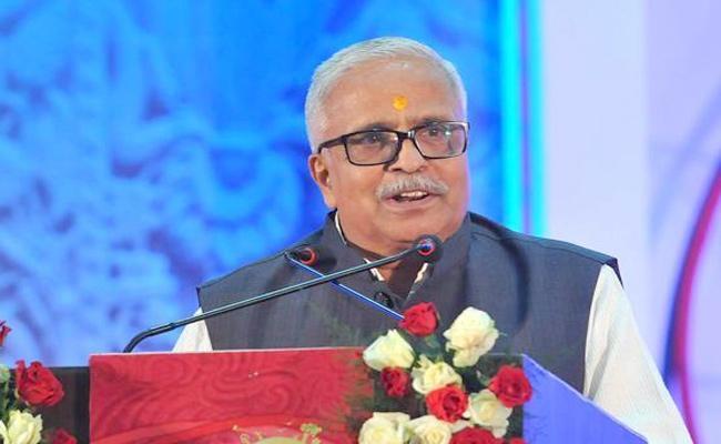 RSS Suresh Bhaiyyaji Joshi On Delhi Riots - Sakshi