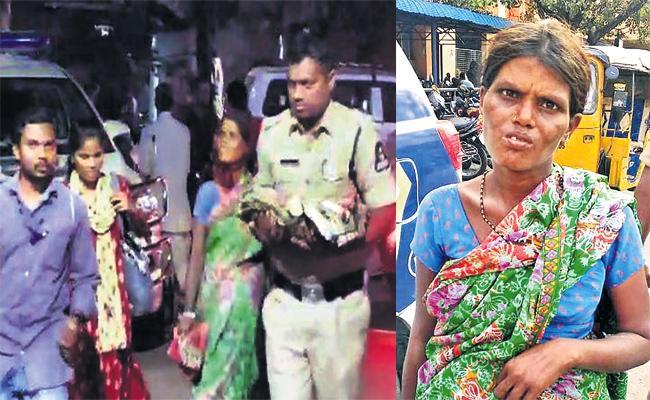 Mother Leave Baby Boy in Gandhi Hospital Hyderabad - Sakshi