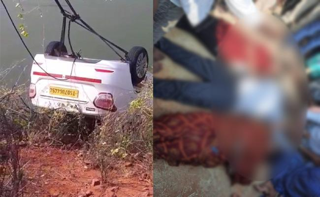 Car Accident At Nalgonda District - Sakshi