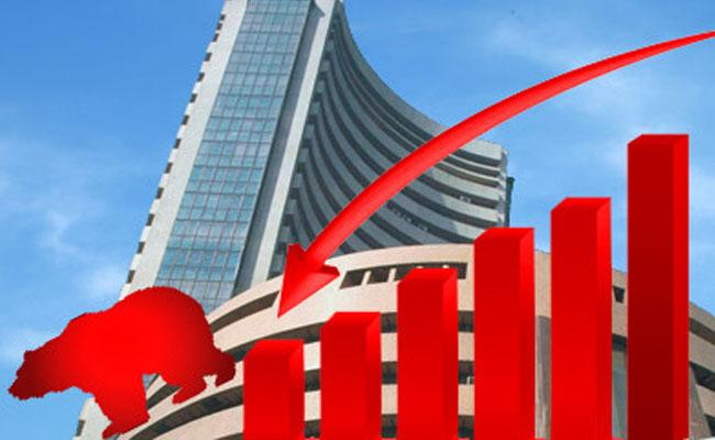Sensex Plunges Over 450 Points As Markets Hit 4Month Lows - Sakshi