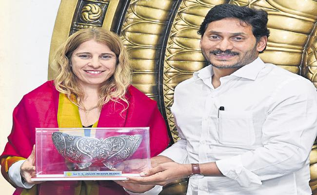 YS Jaganmohan Reddy Comments In Israeli company IDE Technologies Representatives Meeting - Sakshi