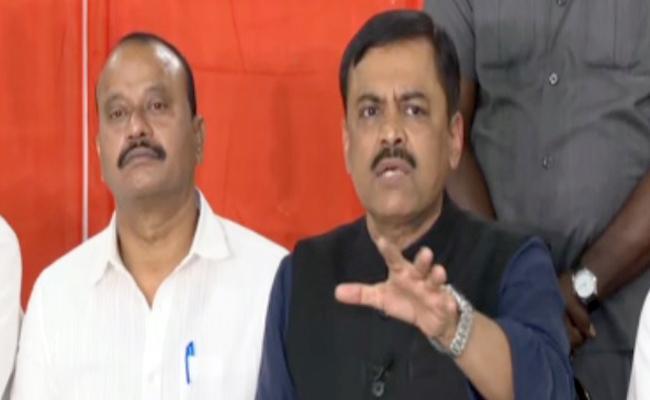 GVL Narasimha Rao Fires On Chandrababu Naidu - Sakshi