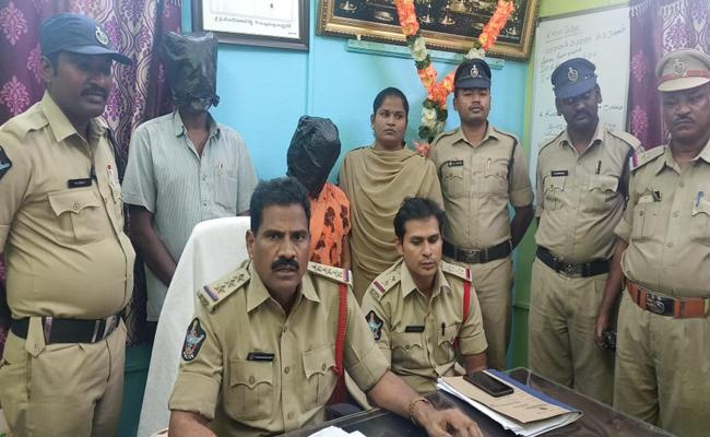 Wife And Husband Arrest in Cheating Case Chittoor - Sakshi
