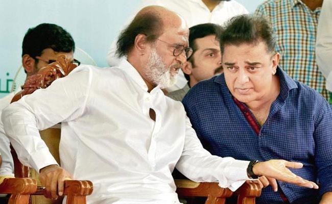 Kamal Haasan Welcomes Rajinikanths Comments On Delhi Violence - Sakshi