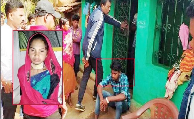 Groom Blade Attack on Bride in Odisha - Sakshi