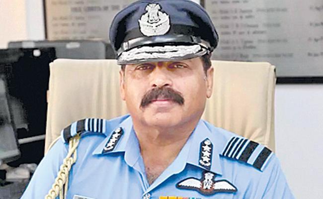 IAF Chief Air Chief Marshal RKS Bhadauria Speaks About Rafale Warplanes - Sakshi