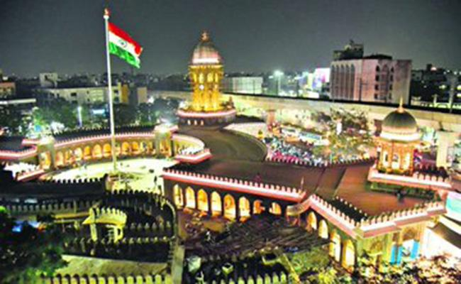 Lighting of Moazamjahi Market Gets New makeover - Sakshi
