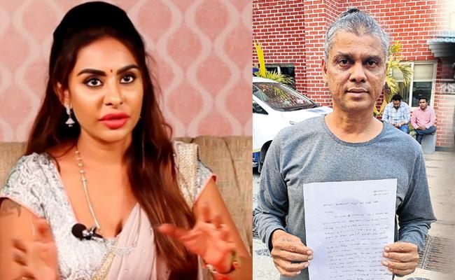 Rakesh Master Police complaints on Sri reddy - Sakshi