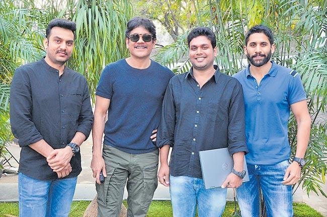 22 movie teaser launch by akkineni nagarjuna - Sakshi