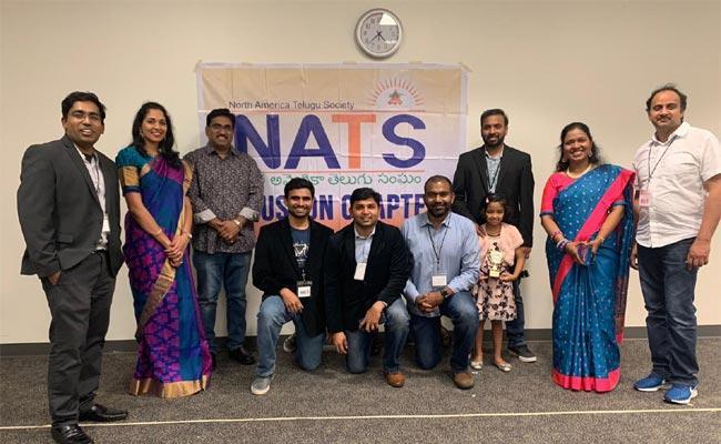 NATS Made Children Celebration In Houston - Sakshi