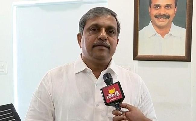 Sajjala Ramakrishna Reddy Fires On Chandrababu Naidu - Sakshi