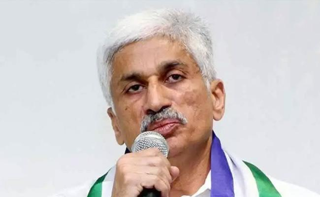 Vijayasai Reddy Slams TDP Leaders Over Insider Trading - Sakshi