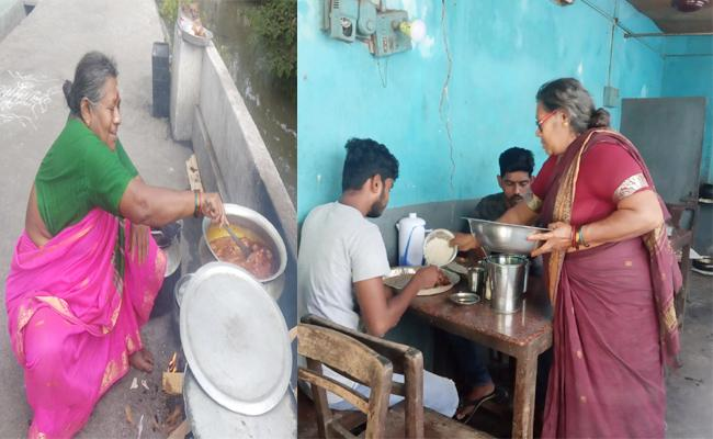 Chittemma Hotel Running Low Price Menu From 40 years in West Godavari - Sakshi