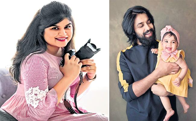 Celebrities Like Smaritha Born Baby Photography Hyderabad - Sakshi