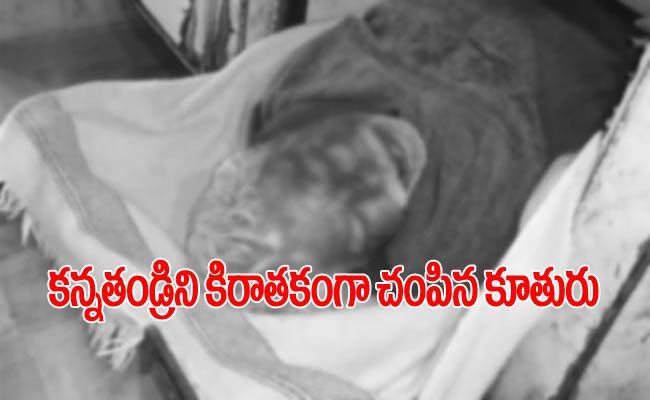Woman Kills Drunkard Father In Rajasthan - Sakshi