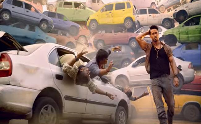 Tiger Shroff Baaghi 3 Movie Trailer Released - Sakshi