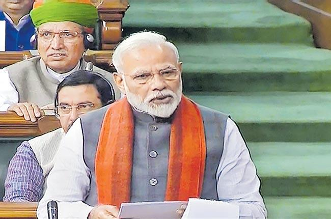 PM Narendra Modi PM Announces Trust For Ram Temple In Ayodhya - Sakshi