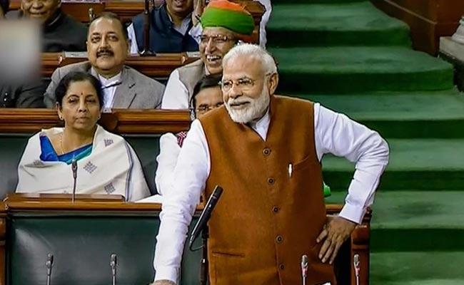 Modi Quotes Former Prime Minister Nehru To Defend CAA In Parliament - Sakshi