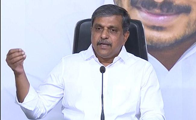 Sajjala Ramakrishna Reddy Fires On Chandrababu About Kia Motors - Sakshi
