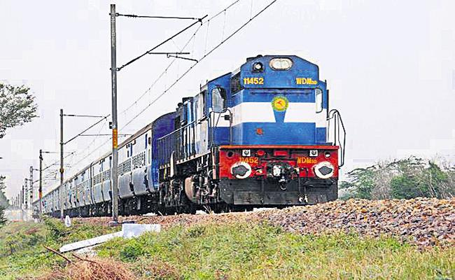 4666 crore for railway projects in the state - Sakshi