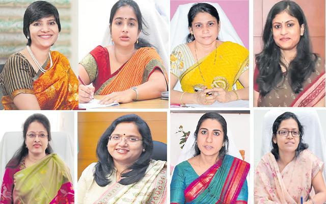 Story On Telangana New Women Collectors - Sakshi