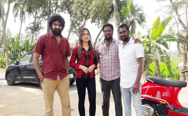 Movie Shooting in Mahadevapatnam West Godavari - Sakshi