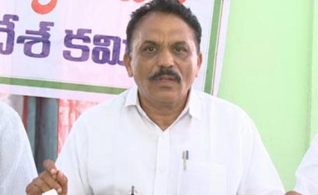 V Laxman Reddy Talks In Press Meet Over Liquor Ban In Vizianagaram - Sakshi
