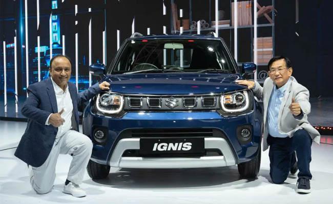 Auto Expo 2020   Maruti Suzuki unveils upgraded Ignis - Sakshi
