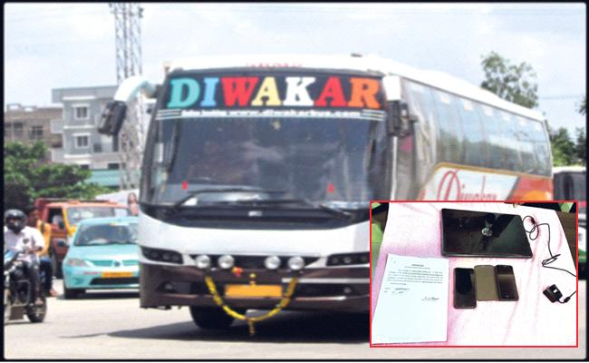 Diwakar Travels Forgery SI Signature For NOC Anantapur - Sakshi