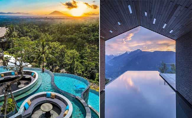 Most Beautiful Swimming Pools in the World - Sakshi