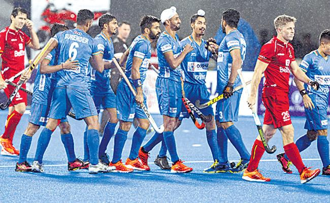 Indian Mens Team Won Against Belgium In Pro Hockey League - Sakshi