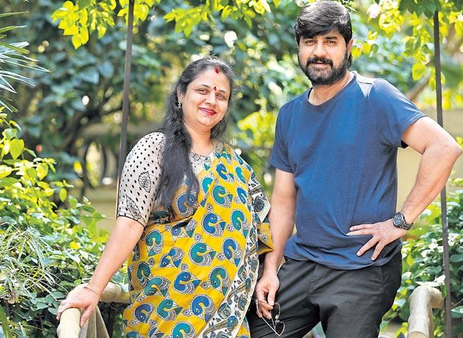 Sakshi interview with acter Srikanth and wife uha
