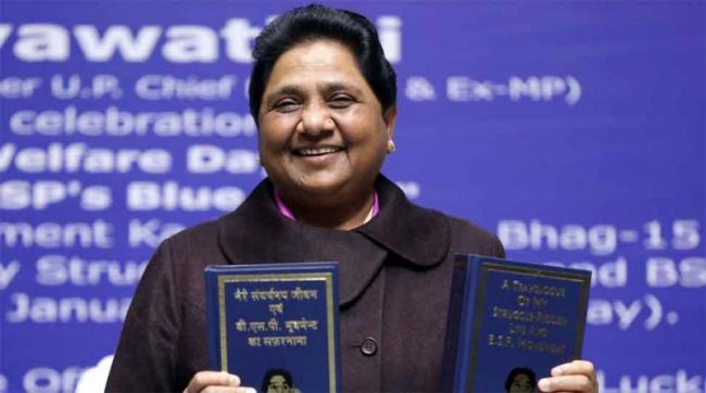 Mayawati Attacks Priyanka Gandhi For Visiting Temples - Sakshi