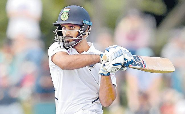 India VS New Zealand Second Test Match At Christchurch - Sakshi