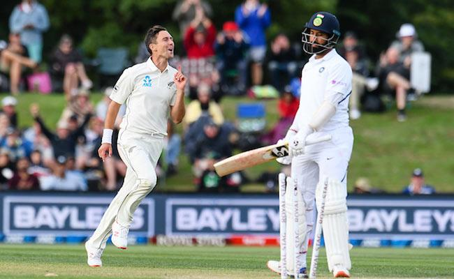 IND VS NZ 2nd Test: New Zealand On Top Of The Game - Sakshi