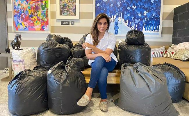 Upasana Konidela Selling Her Clothes To Raise Funds For A Charity - Sakshi