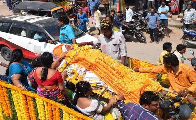 Maruti Rao Funeral Ceremony In Miryalaguda - Sakshi