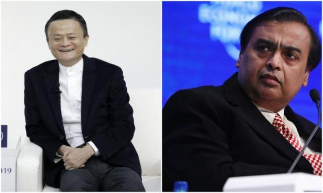 Mukesh Ambani Loses Asia's Richest Crown to Jack Ma - Sakshi