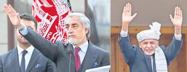 Afghans dismayed as both Ghani and Abdullah claim presidency - Sakshi