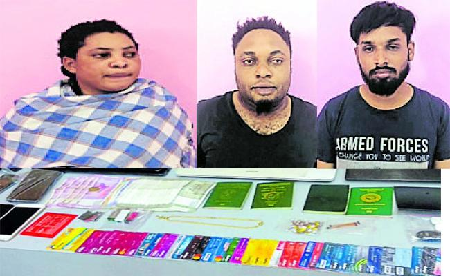 ATM Cards Skimming Gang Held in Karnataka - Sakshi
