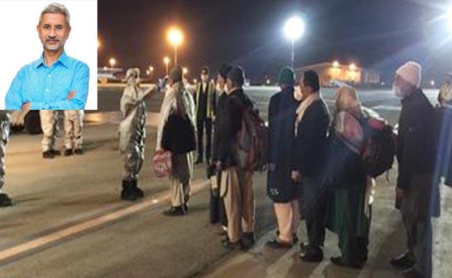 EAM Jaishankar Says 58 Indians Evacuated From Iran Over Covid 19 - Sakshi
