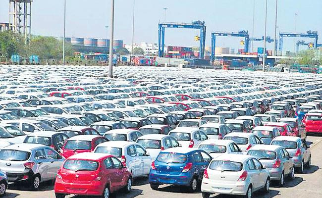 Decreased Vehicle Sales Due To Coronavirus - Sakshi