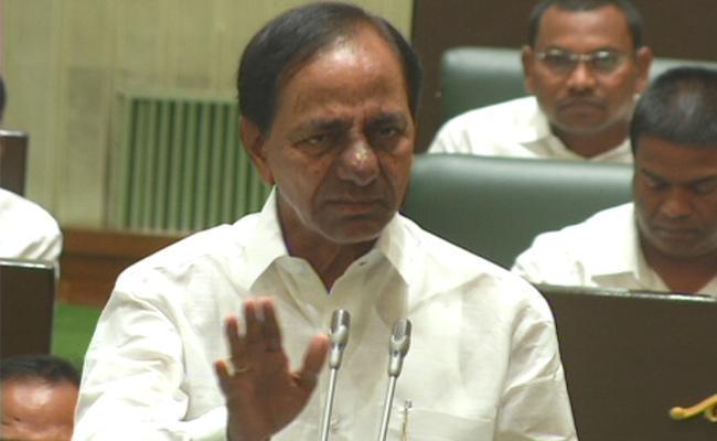 CM KCR Slams Congress Members Critics Of Telangana Development - Sakshi
