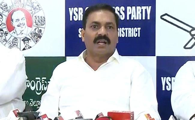 MLA Kakani Govardhan Reddy Open Challenge To TDP In Nellore - Sakshi
