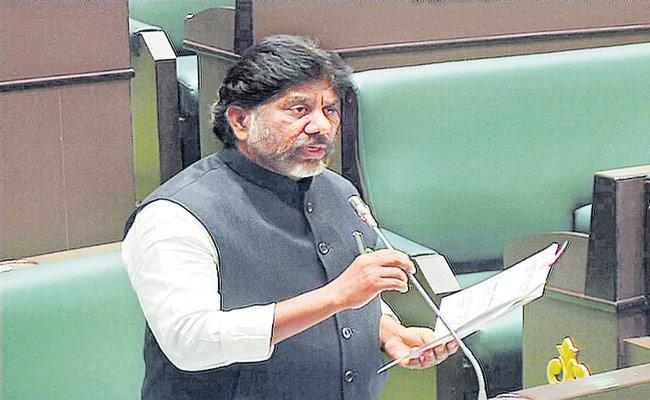 Mallu Bhatti Vikramarka Slams TRS Government Over Telangana Budget - Sakshi